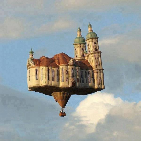Hot Air Balloon in Austria